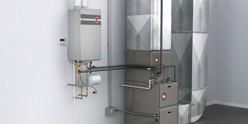 New Rheem Tankless Water Heater Install