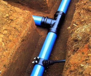sewer and water mains by Keemer Plumbing UT