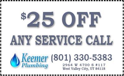 $25 Any Service Call (801) 330-5383