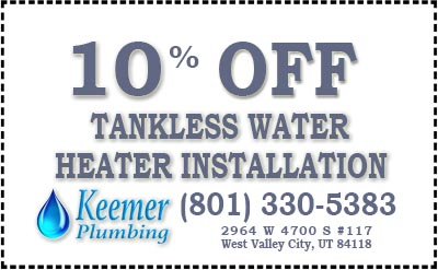 10% Off Tankless Water Heater Installation