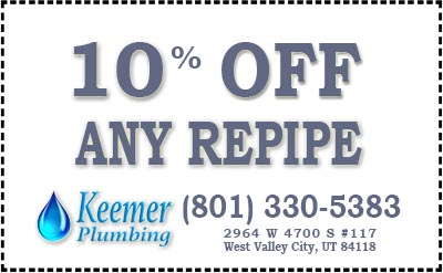 10% OFF Any Repipe - Coupon