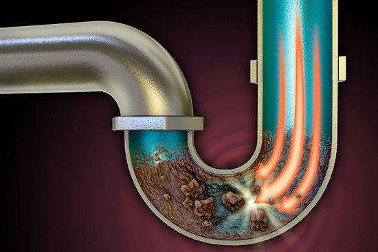 Clogged drain