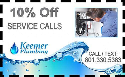 Provo Plumber Service Calls Coupon Keemer Plumbing In Salt Lake