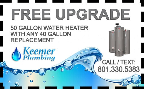 Water Heater Coupon For Draper Homeowners Keemer Plumbing