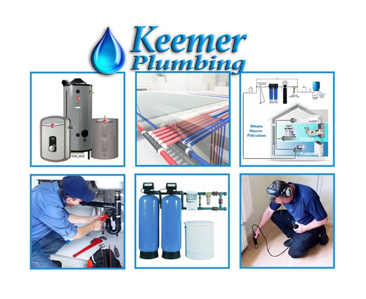 Services Of Keemer Plumbing in Draper Utah