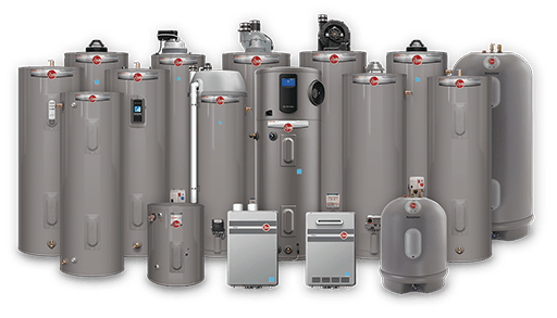 Water Heater Options From Rheem