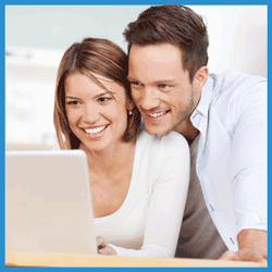 Couple Getting Financing