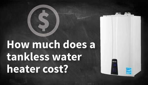 Tankless Water Heater Cost Image