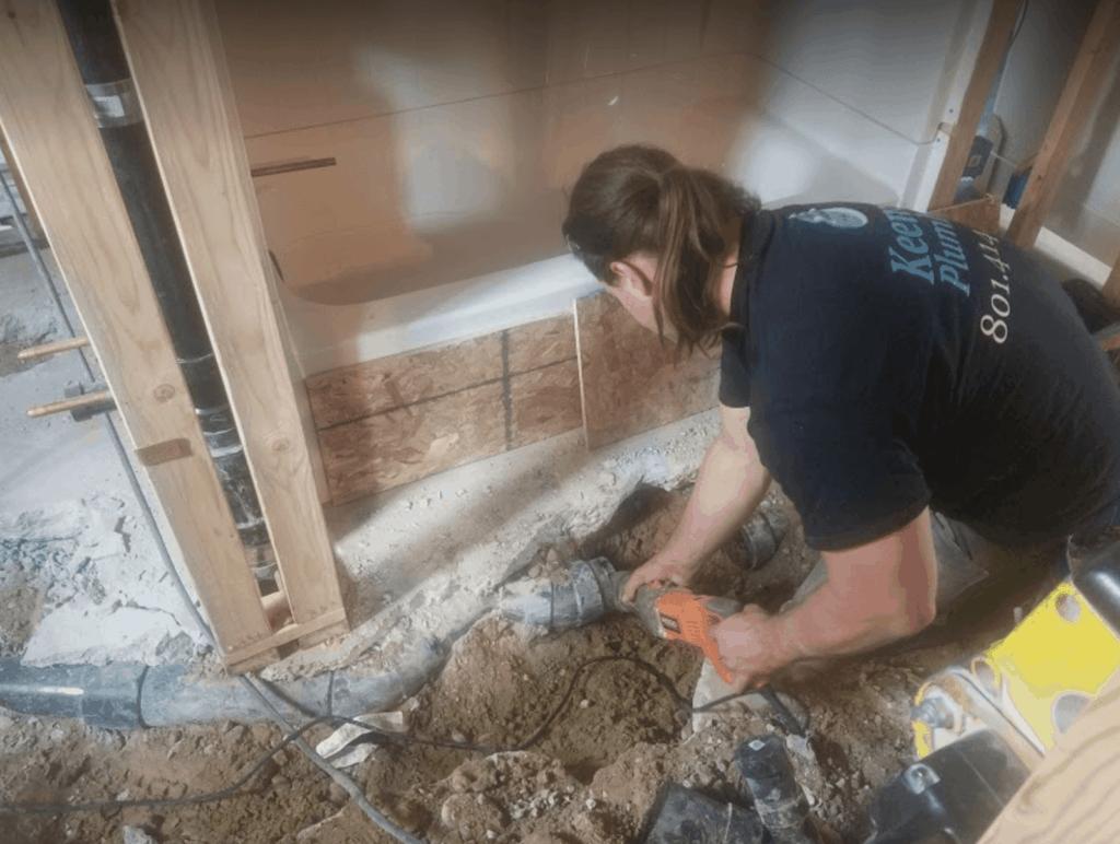 Remodel Your Bathroom Keemer Plumbing Worker