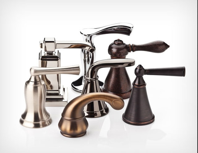 different types of plumbing bathroom faucets