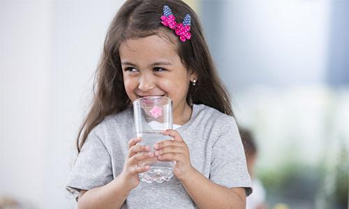 safe water child