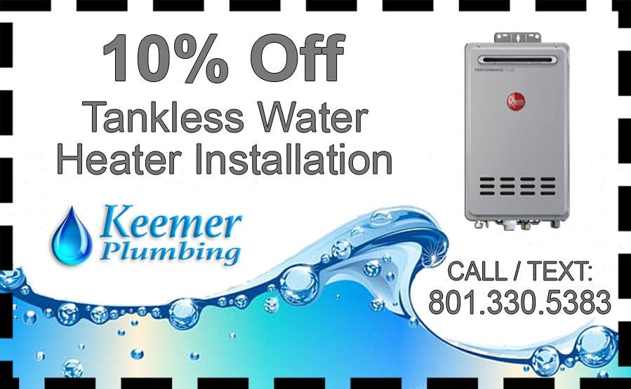 Water Heater Coupon Utah
