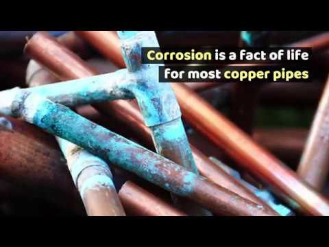 Corrosion for copper pipes