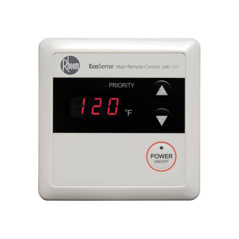 Rheem temperature control
